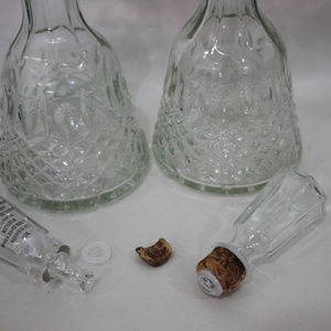 unbranded Other - Vintage Glass Decanters Lot of 2